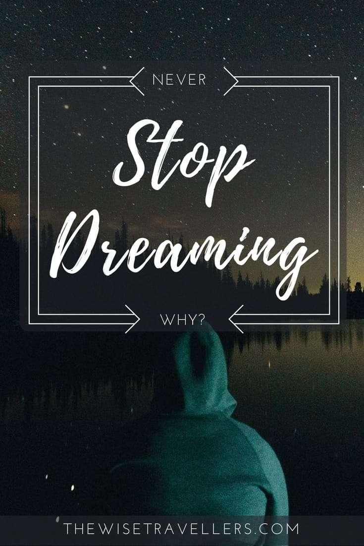 stop dreaming pinterest