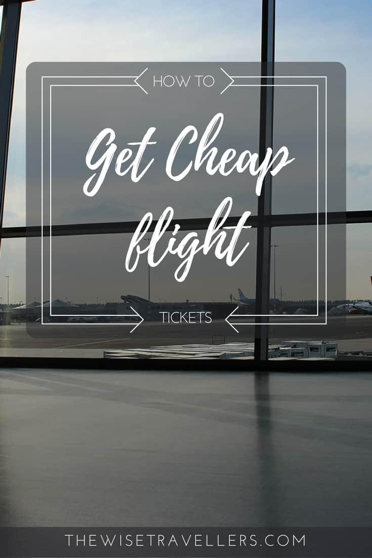 Pinterest find cheap flight ticket