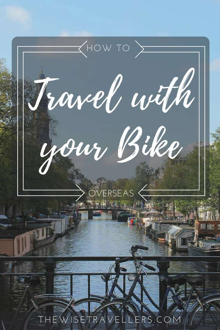Pinterest travel with your bike