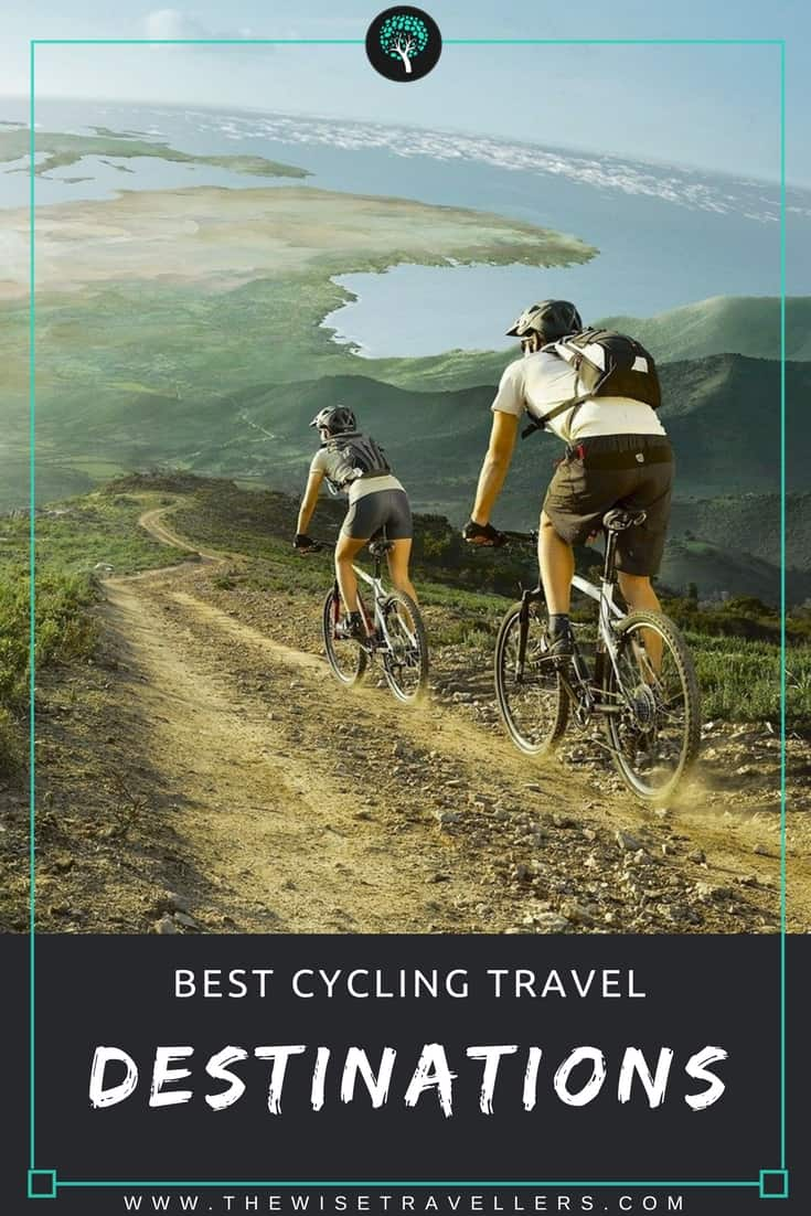 best cycling travel destinations pinterest
