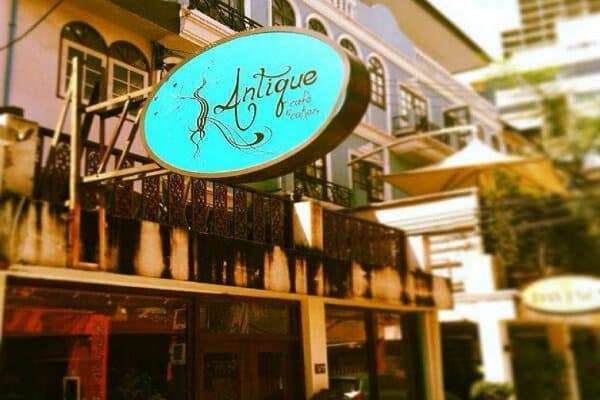 ethical eateries in Bangkok antique coffee