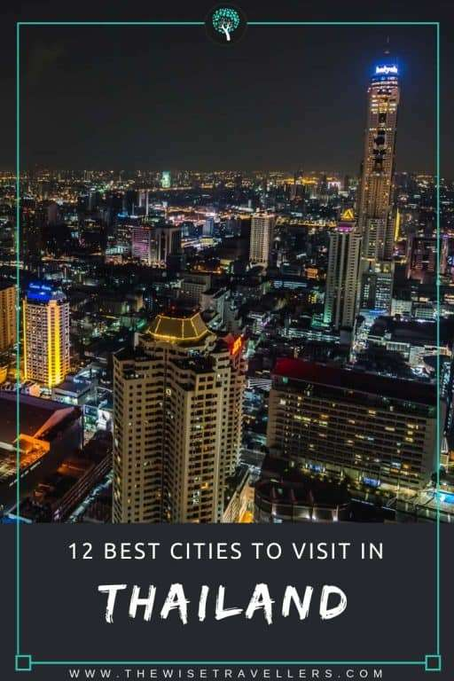 12 Best Cities To Visit In Thailand thumbnail pinterest