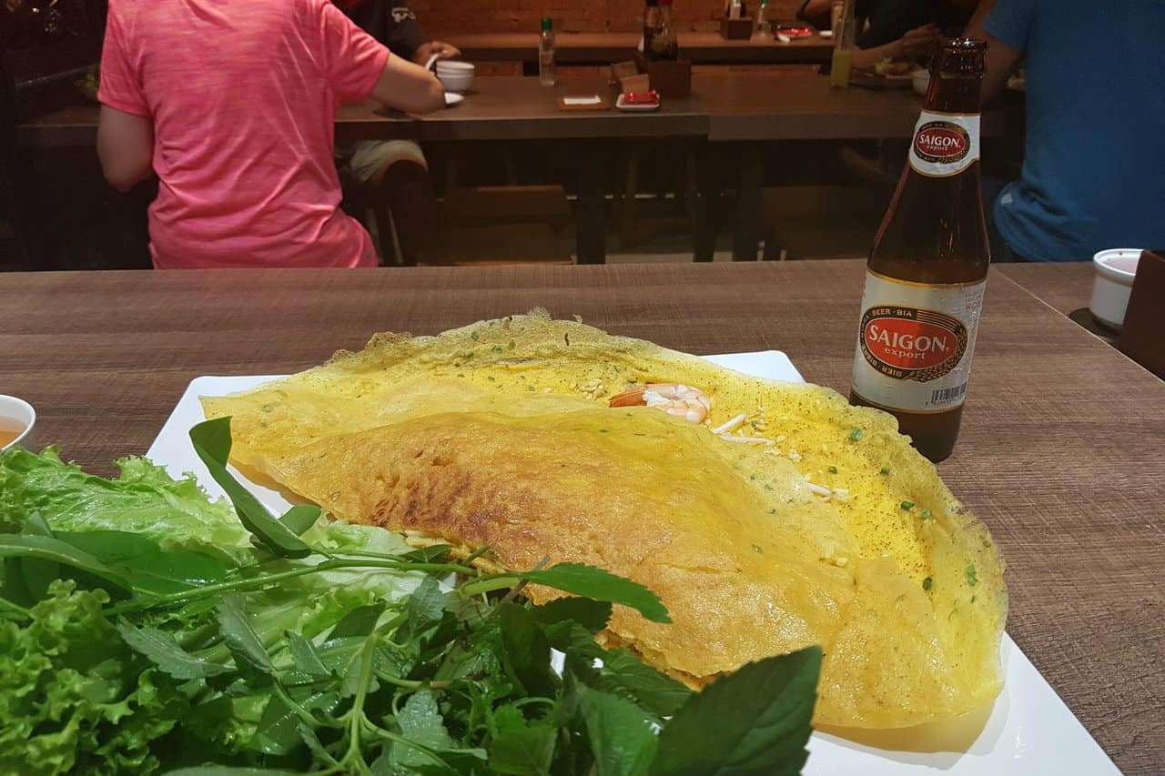 Best Dishes to Eat in Vientame banh xeo
