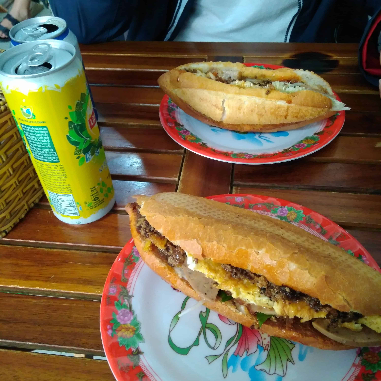 Best Dishes to Eat in Vientame banh mi