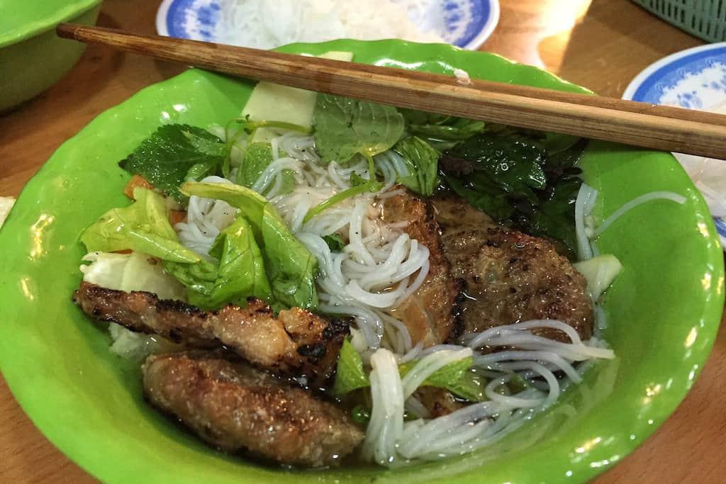 Best Dishes to Eat in Vietnam 2 bun cha