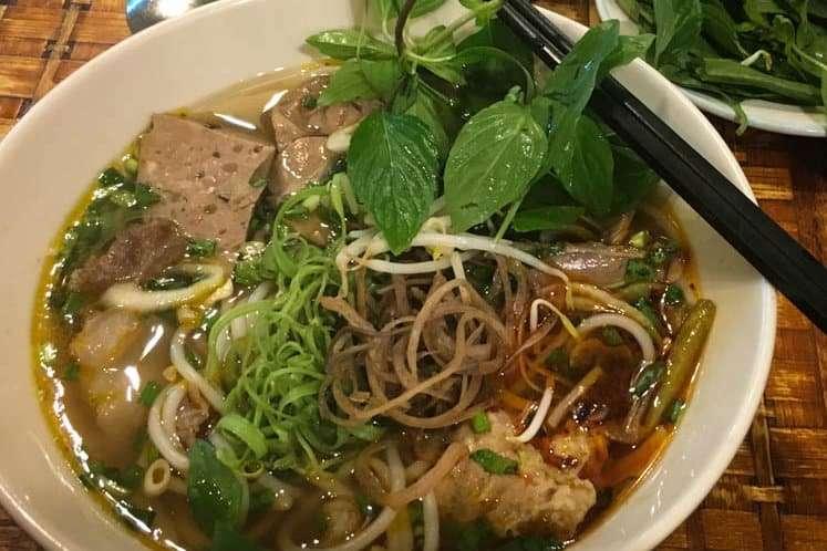 Best Dishes to Eat in Vietnam Bun Bo Hue