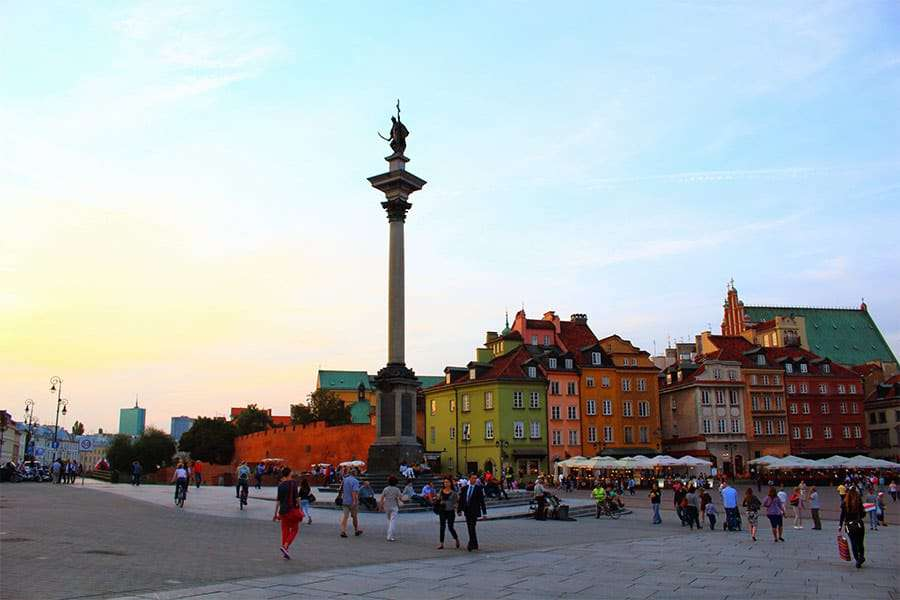 Romantic City Breaks in Europe for Valentines Day_Warsaw 1