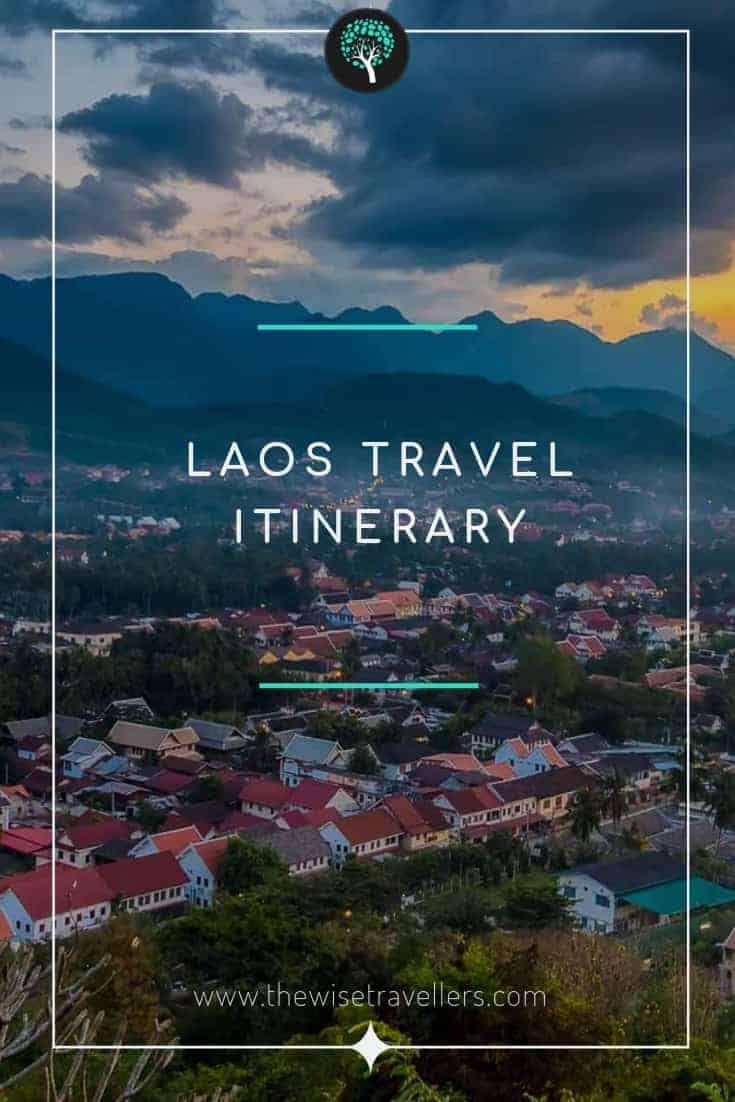 Laos Travel itinerary_pinterest image