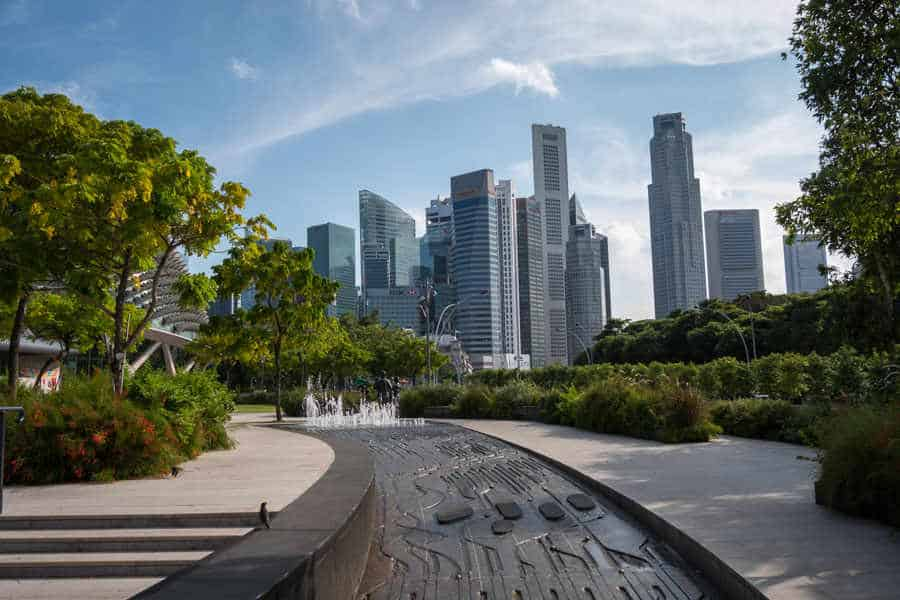 singapore-travel-itinerary downtown