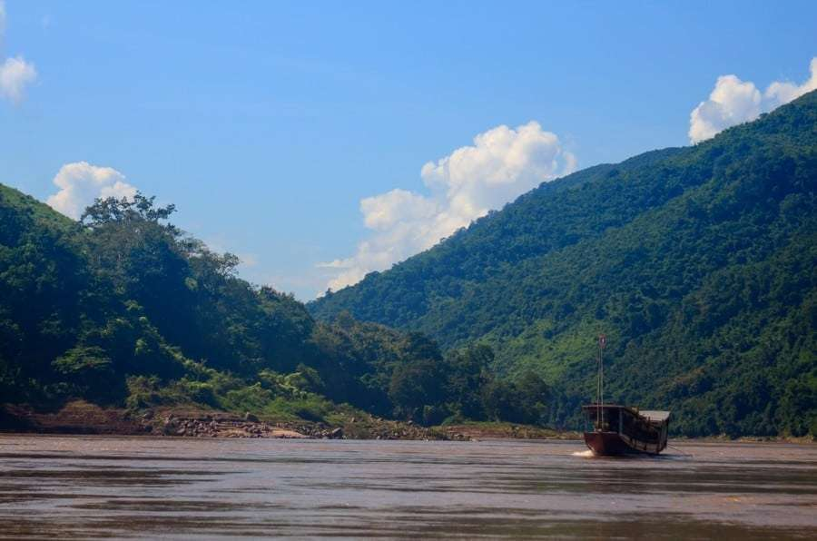Dong Phou Vieng National Protected Area laos Xebanghieng river