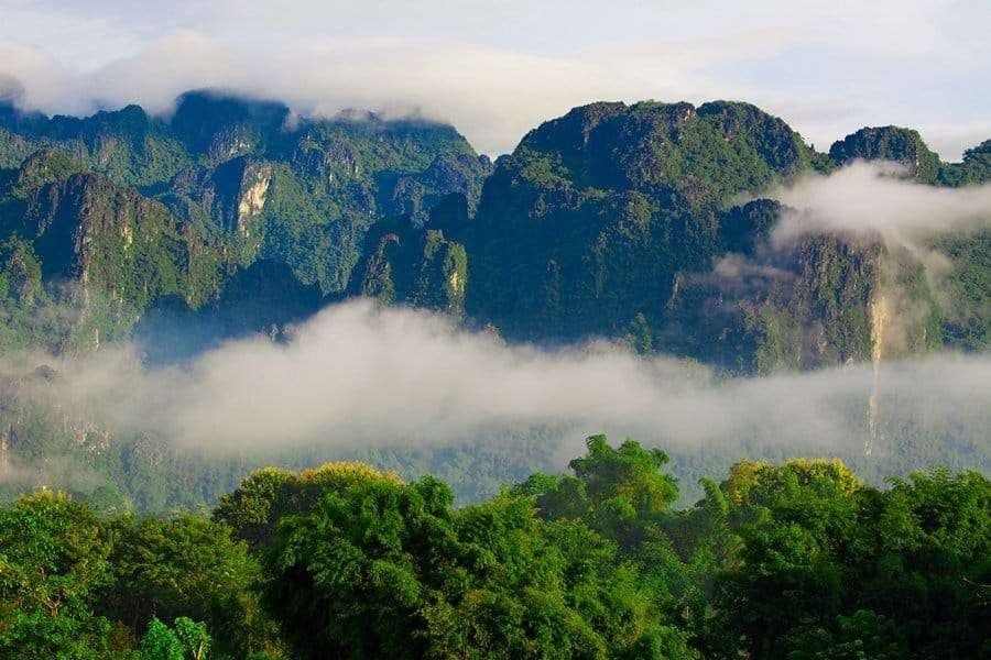 Phou Daen Din National Protected Area laos mountains