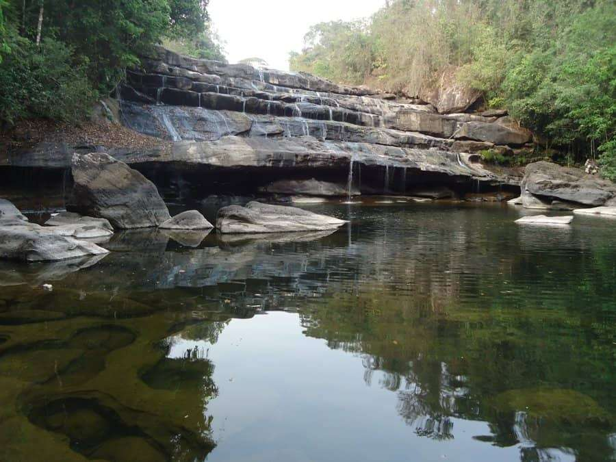 Phou Khao Khuay National Protected Area laos waterfall