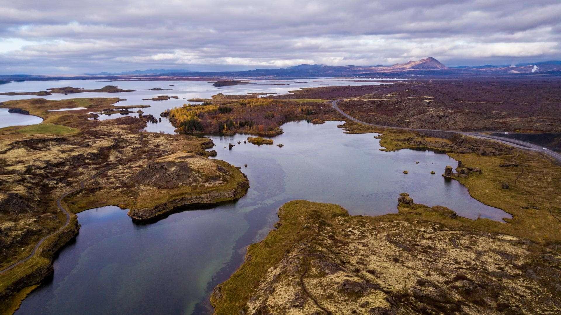Itinerário na Arctic Coast Way - Arctic Coast Way itinerary