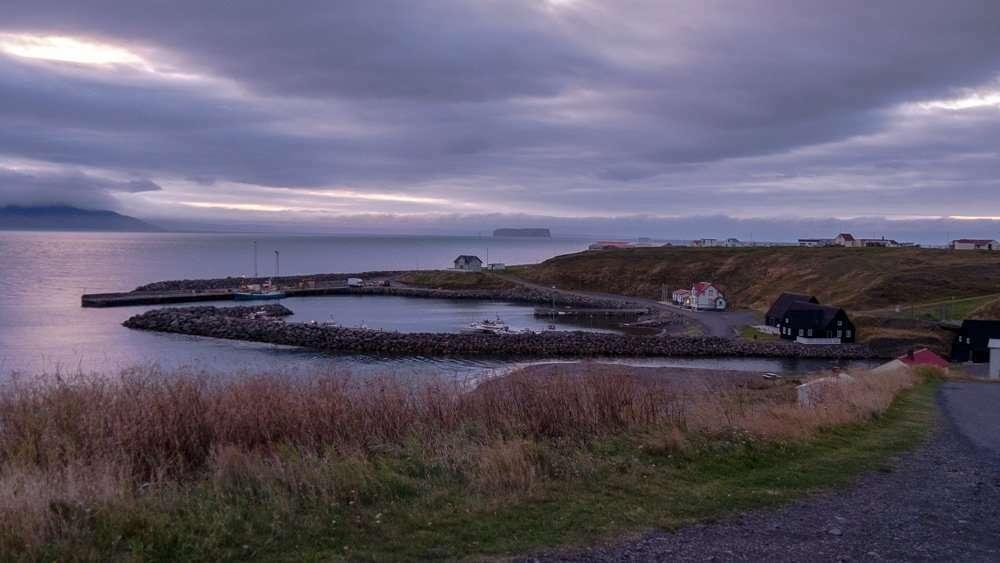 Hofsós village Iceland harbour