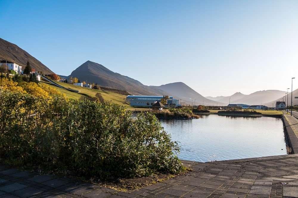 Olafsjordur village Iceland