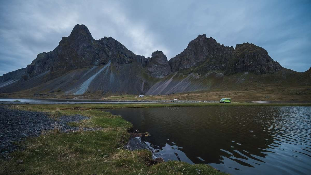 South Coast of Iceland - Happy Campers