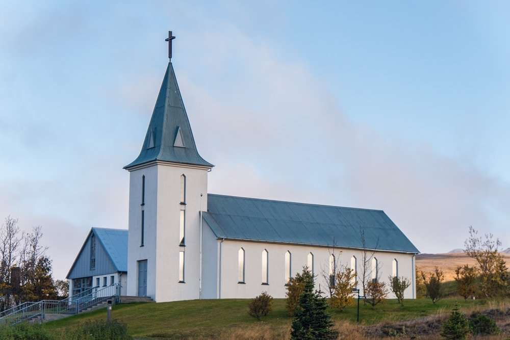 The local church in Hvammstangi