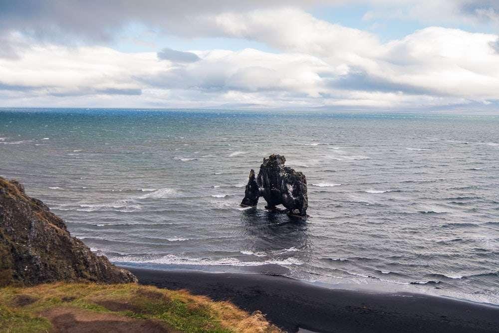 Artic Coast way itinerary - Hvitserkur