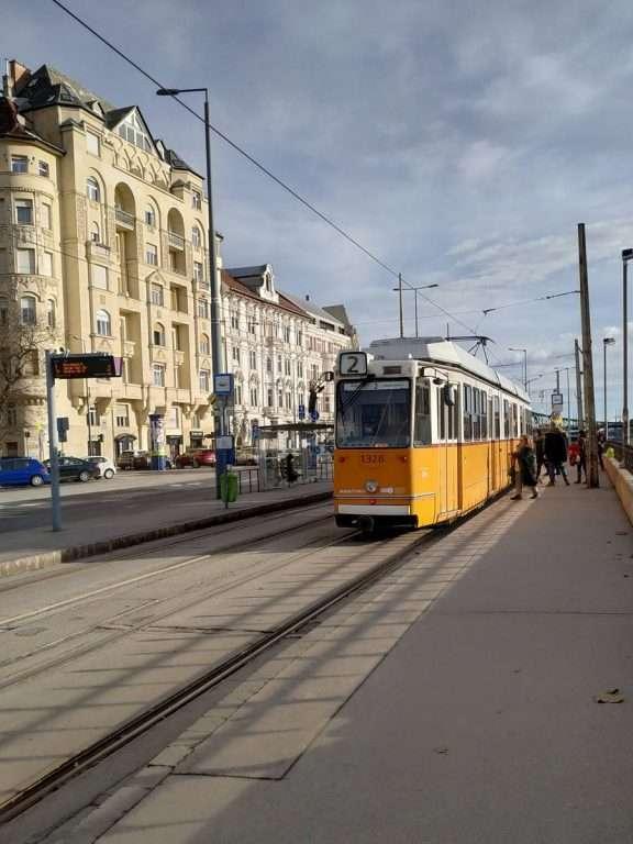 Electrico em Budapeste