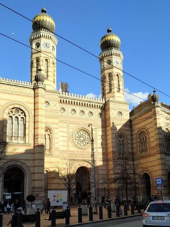Roteiro de viagem - Grande Sinagoga de Budapeste