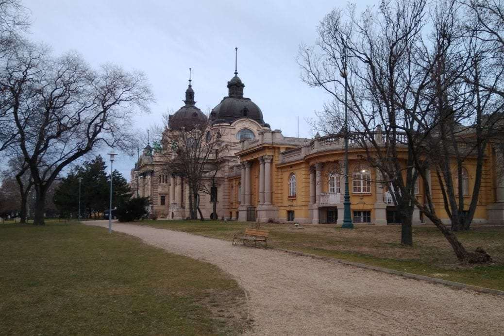 budapeste Szechenyi baths
