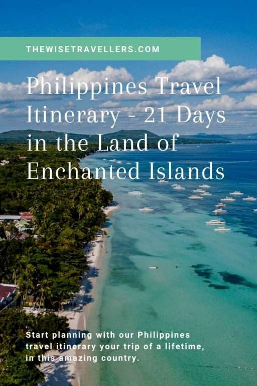 Philippines Travel Itinerary Pinterest