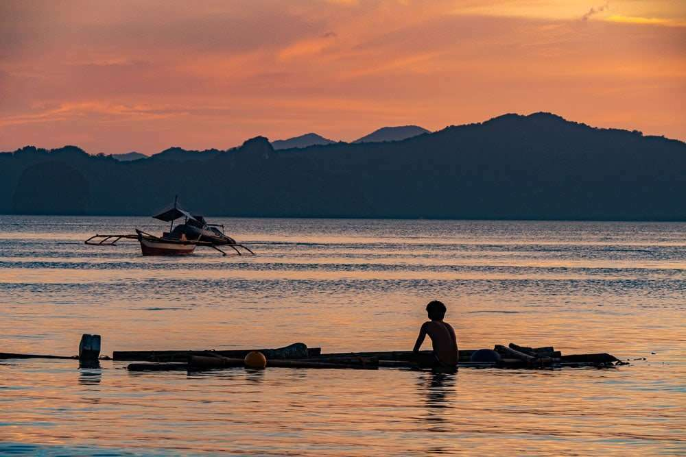 philippines-travel-itinerary-el-nido-sunset