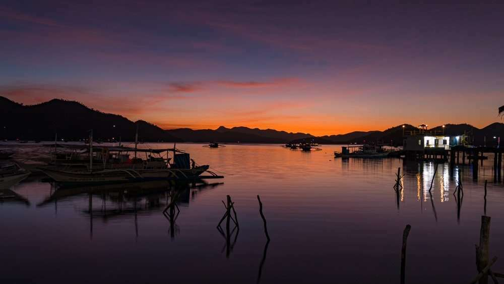 philippines-travel-itinerary-coron-sunset