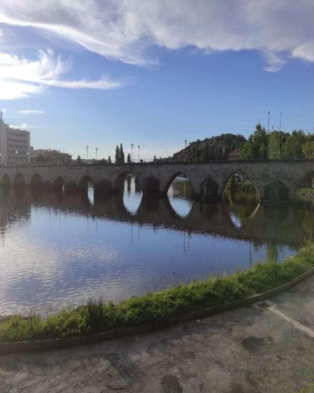 Nove Passos, Nove Concelhos em Mirandela-ponte velha