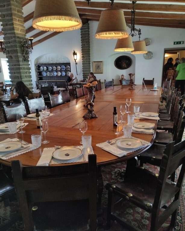 Nove Passos, Nove Concelhos em Mirandela-restaurante maria rita