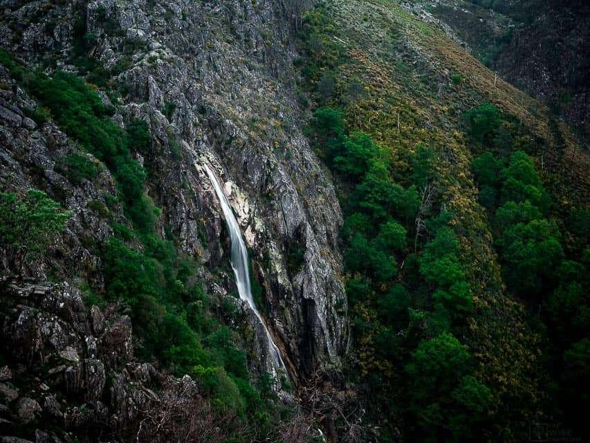 arouca geopark cascata da mizarela