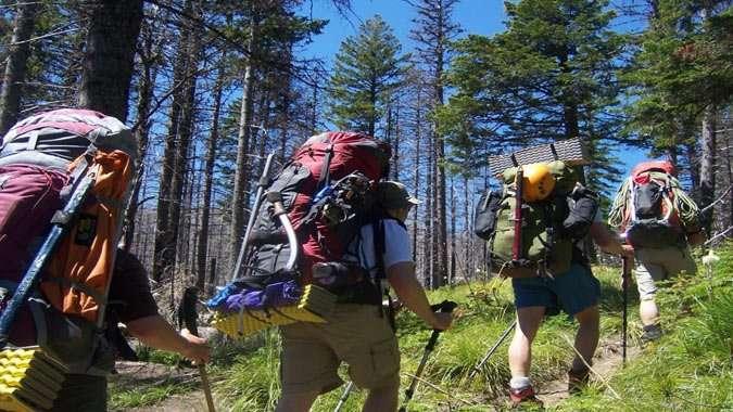 escolher a mochila de viagem hiking