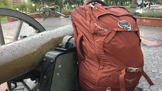 escolher a mochila de viagem osprey